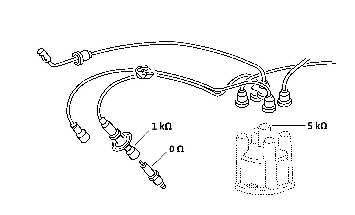 VW-type-2-ignition-lead-spark-plug-resistance