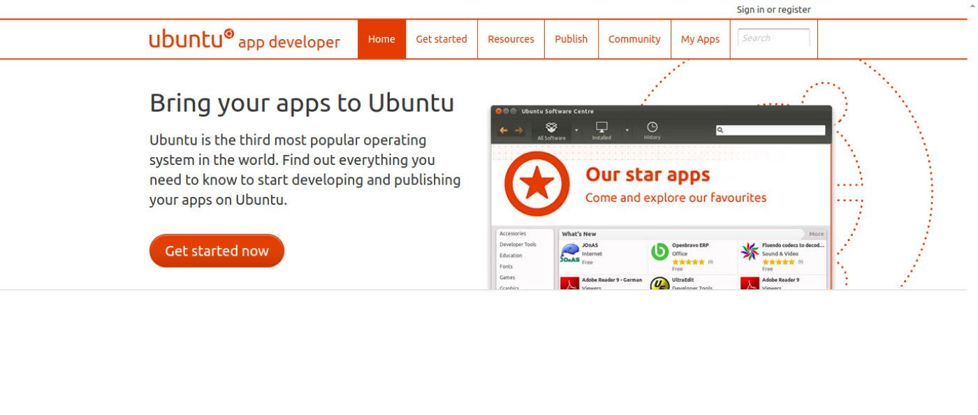 Announcing the Ubuntu App Developer site