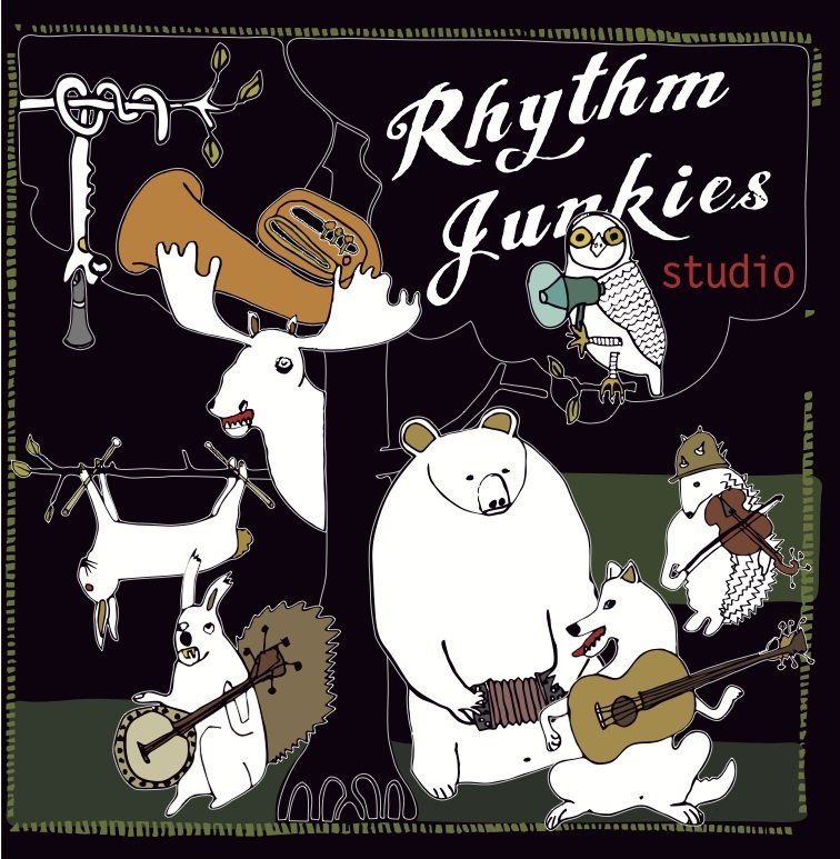 Rhythm Junkies live at Spirit Swing House