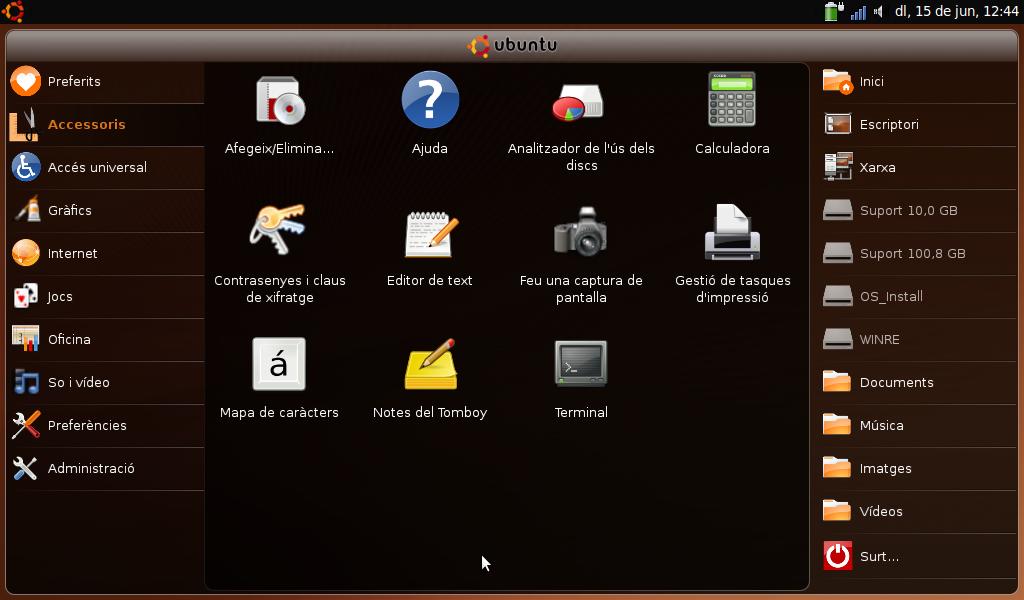 Ubuntu Netbook Remix in Catalan