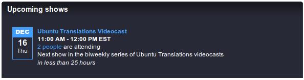 Ubuntu Translations Videocast