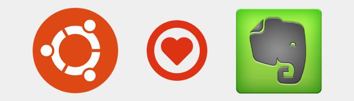 Ubuntu loves Evernote