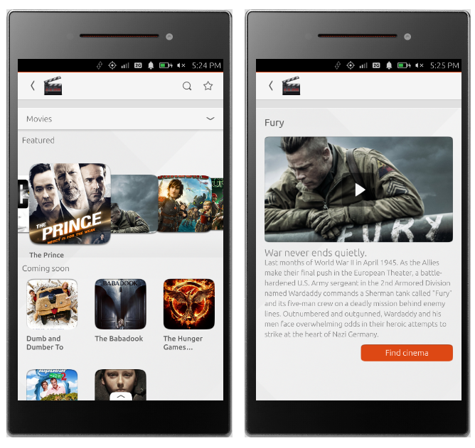 Helping Ubuntu users see what stuff dreams are made of since 2014 - the Cinema scope